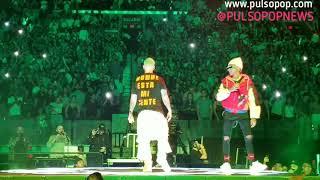 "J BALVIN, LALO EBRATT Cantan ""Moccha (Remix)"" | Vibras Tour"