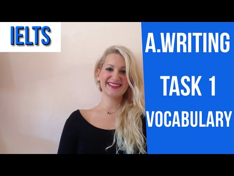 IELTS Writing Task, part 1: Useful Vocabulary for HIGH SCORE