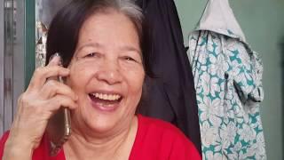 Cô Minh bật khóc nghe fone và Nhận quà từ người xa lạ ở xứ cờ hoa |Trao quà cho Chú Danh cô Minh
