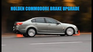 Best Brakes for Holden Commodore