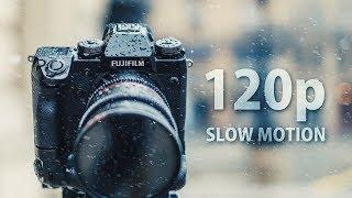 120 frames of Snow Motion - Fujifilm X-H1