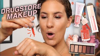 Trying NEW DRUGSTORE Makeup So You Dont Have To! | Jamie Paige