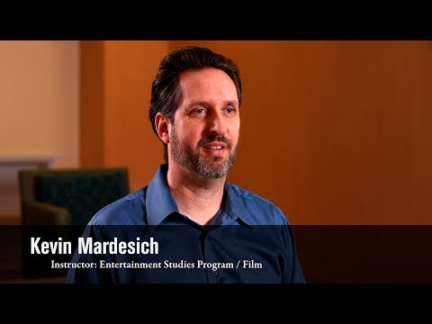 Instructor Spotlight: Kevin Mardesich, Entertainment Studies Instructor