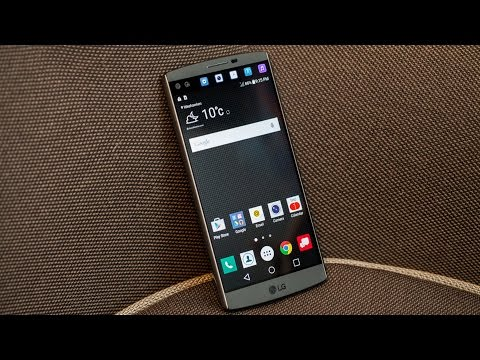 LG V10 hands-on
