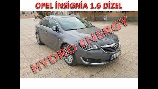 Opel İnsignia dizel sıfır km de hidrojen yakıt sistem montajı