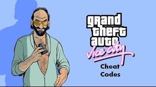 GTA Vice city Cheat Codes (58 Cheat codes)