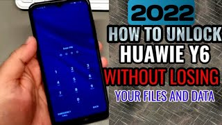 How to unlock Huawei Y6 without losing your files