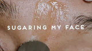 HOW I SUGAR MY FACE AT HOME / DIY Sugar Wax / Abetweene