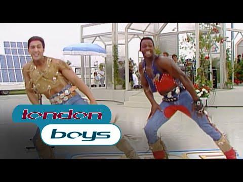 London Boys - I'm Gonna Give My Heart (ZDF-Fernsehgarten, 27.07.1986)