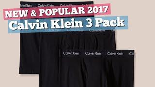 Calvin Klein 3 Pack Boxers For Men // New & Popular 2017