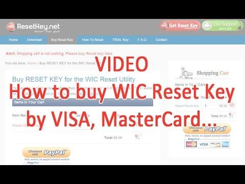 How to get free wic reset key - Reset Epson Printer - смотреть