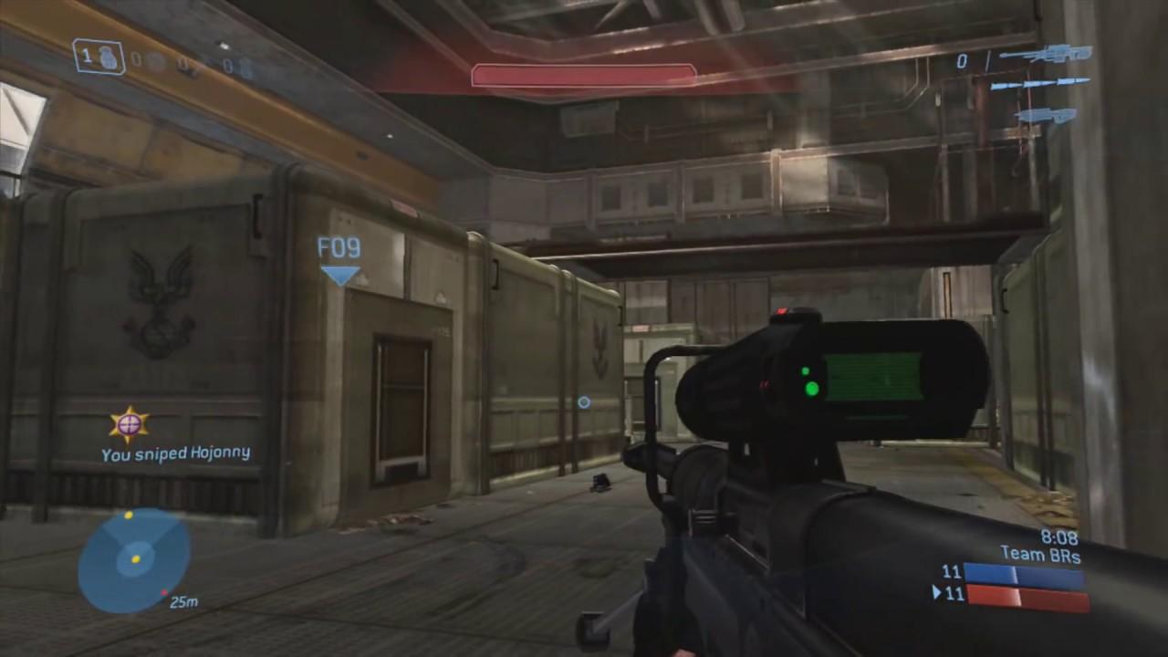 The Weirdest Halo Sniper Shot I've Ever Seen