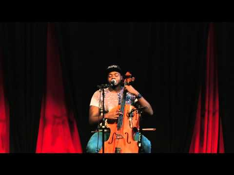 Pentatonix's Kevin Olusola beatboxes and performs Julie-O on cello