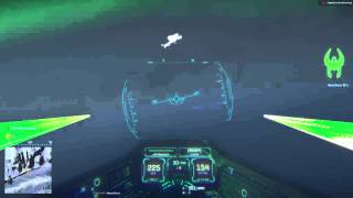 This is how you fly in Planetside 2 (testing trackIR 5 with cockpit freelook)