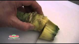 Comment préparer l'artichaut petit violet
