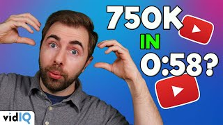How I Got 750K Views in 58 Seconds from YouTube Shorts