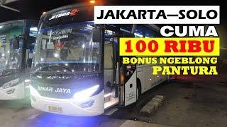 Sinar Jaya Jakarta—Solo cuma 100 ribu! Banteerr, solar corr, & nyaman. Cuma Sinar yang bisa!
