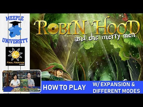 Robin Hood and the Merry Men Board Game – How to Play with Expansions & Different Modes of Play