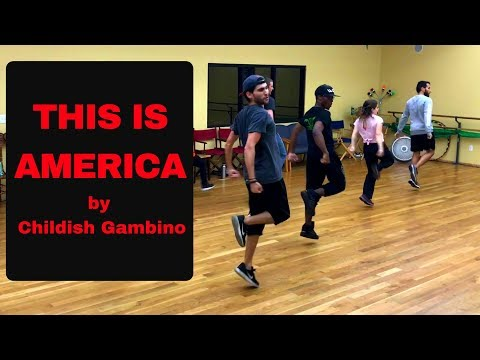 Had a blast creating and teaching this piece to Childish Gambino's This is America!