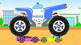 """Ура! Новая серия мультфильма про машинки """"Городские истории 4"""". В этом мультфильме мы увидим как желтая машинка ехала на большой скорости, обгоняя другие машинки. Внезапно, выехав на противосторонние движение, она врезалась в другую"""