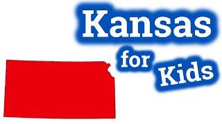 Kansas for Kids | US States Learning Video