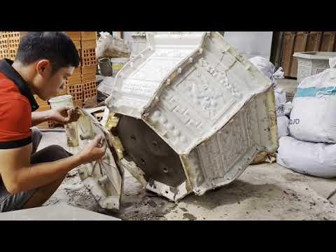 Khuôn Chậu Cảnh Công CNC Mẫu 2021