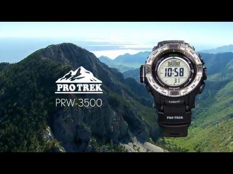 CASIO PROTREK PRW 3500   UHR.DE
