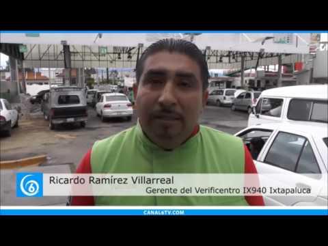 Verificentros de Ixtapaluca operan con normalidad desde el 1 de julio