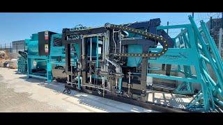 Yarı Otomatik Parke ve Briket Makinesi