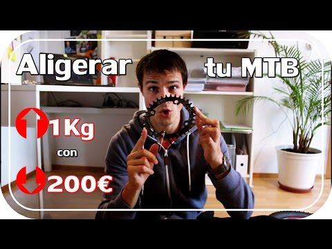 COMO BAJAR 1Kg a tu BICI con MENOS DE 200€