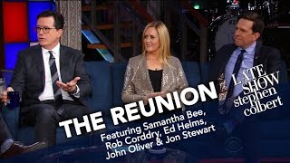 The Reunion: Jon Stewart And The Correspondents (Part One)