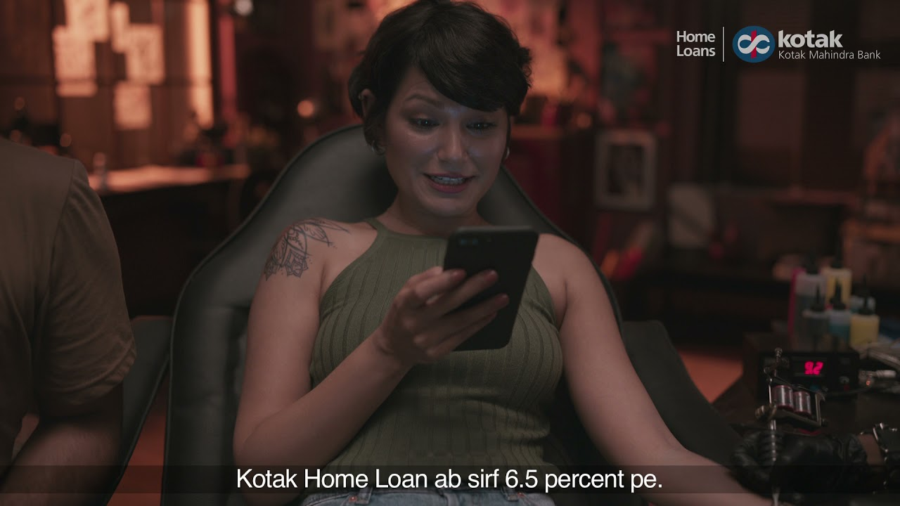 Kotak House Loans @ 6.5% p.a. Tattoo #KripyaDhyaanRakhein thumbnail