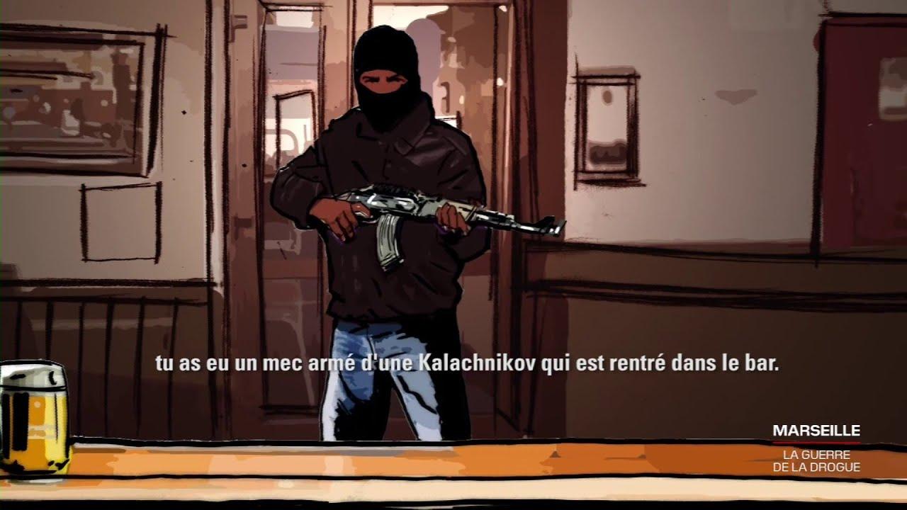 LIGNE ROUGE - Le témoignage édifiant de Youssef, victime d'une attaque à la Kalachnikov à Marseille