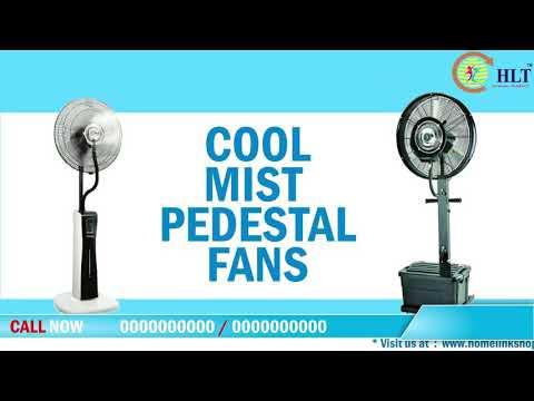 Outdoor HLT Mist Fan
