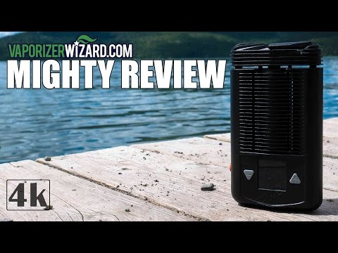 Mighty Vaporizer Review! [4K] Tutorial, Demo w/D020-D & Pros/Cons