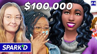 3 Pro Sims Players Win $100,000 Playing The Sims 4 • Spark'd Ep. 4 Finale