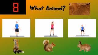 Animal Match- Virtual Elementary Physical Education Workout
