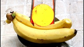 Iron ball 1000 Degree and Banana - so so boring