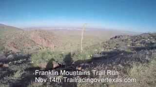 Franklin Mountains Trail Run 50k