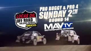 LOORS 2016 Pro Buggy & Pro 4 SUNDAY 2pm Round 14