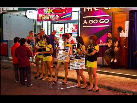 Walking Street - Nightlife Pattaya Sexy Girls Thailand 2015