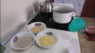 Как сделать прикормку из перловой каши