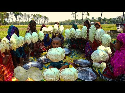 Village Women Make Delicious Sweet From Cabbage - 100% New Recipe For Food Lover