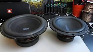 Logitech z906 vs z623 Subwoofer | Free air bass test