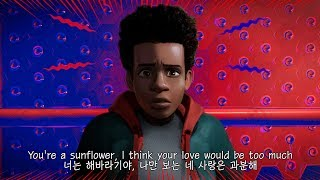 Sunflower – Post Malone, Swae Lee (스파이더맨: 뉴 유니버스 OST) 가사/한국어자막