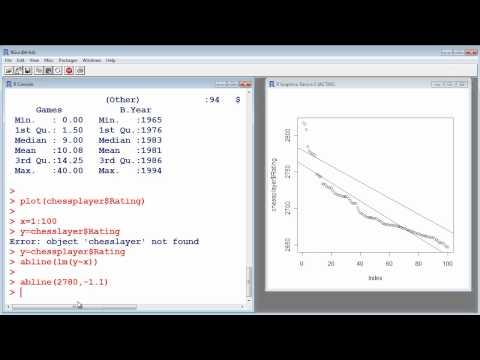 R Tutorial #10 – Linear Regression