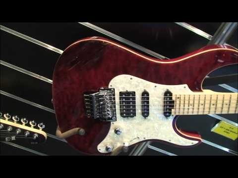 Musikmesse 2014 E-II guitars Part 2