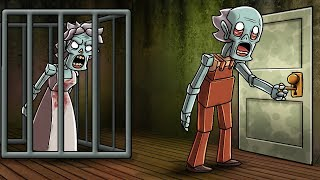 Minecraft - GRANNY CAGED BY EVIL GRANDPA! (Granny in Minecraft)