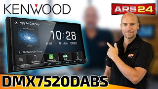Kenwood DMX7520DABS | 2-DIN Autoradio mit DAB+ & Apple CarPlay | ARS24