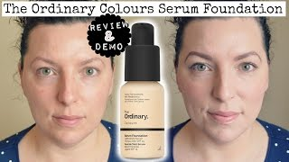 NEW | The Ordinary Colours Serum Foundation - Review & Demo | Beauty | Fun | WavyKate